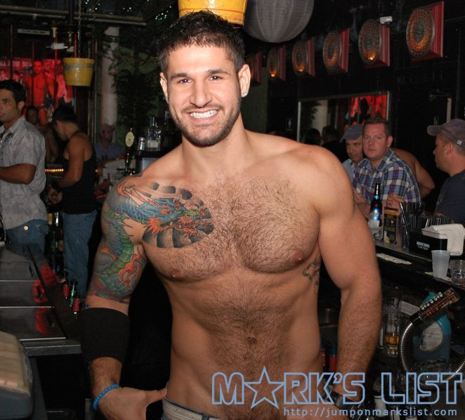 This sexy guy is a bartender at Boardwalk, a GoGo bar in Fort ...