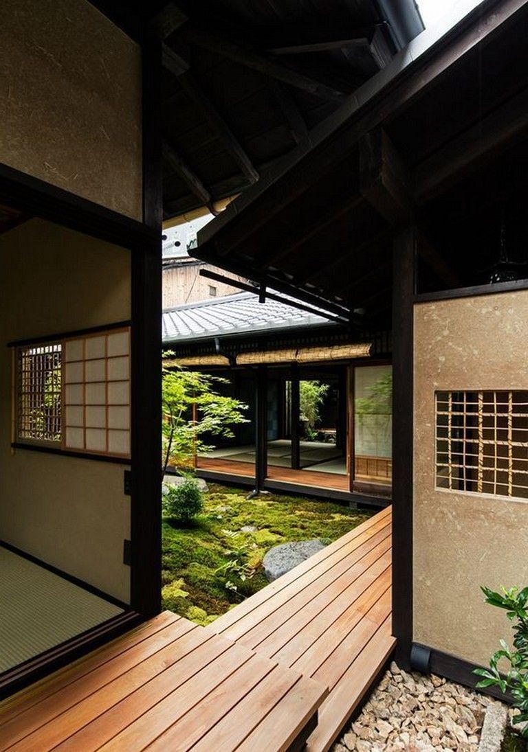 10 Cool Japanese House Design Traditional That Simple And Calmnes Homedecorideas Homedecoracc Japanese Home Design Traditional Japanese House Japanese House