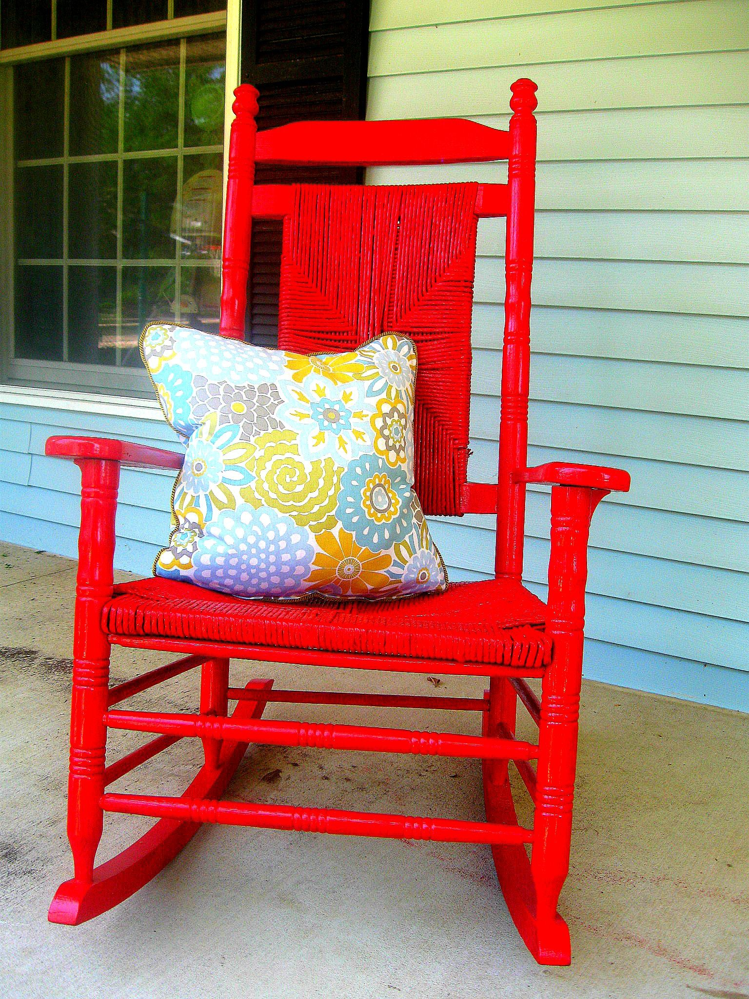 The Famous Red Rocker Cracker Barrel Rocking Chair Red Rocker Porch Rocker