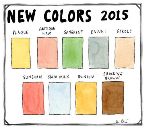 Uusi väri maailmaan.