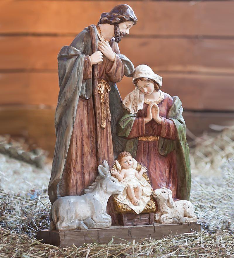 Holy Family Nativity Statue Outdoor Nativity Outdoor Nativity Sets Nativity Set