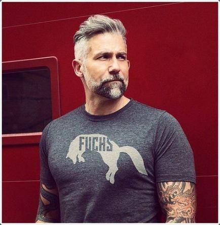 63 ideas hair styles mens grey with images  mens