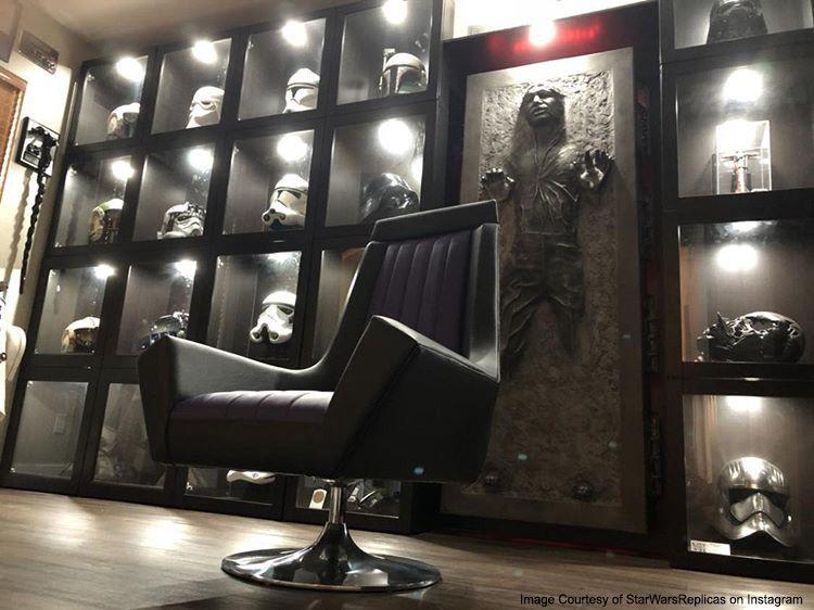 Spotlight Custom Star Wars Furniture And Decor Star Wars Furniture Star Wars Living Room Star Wars Room