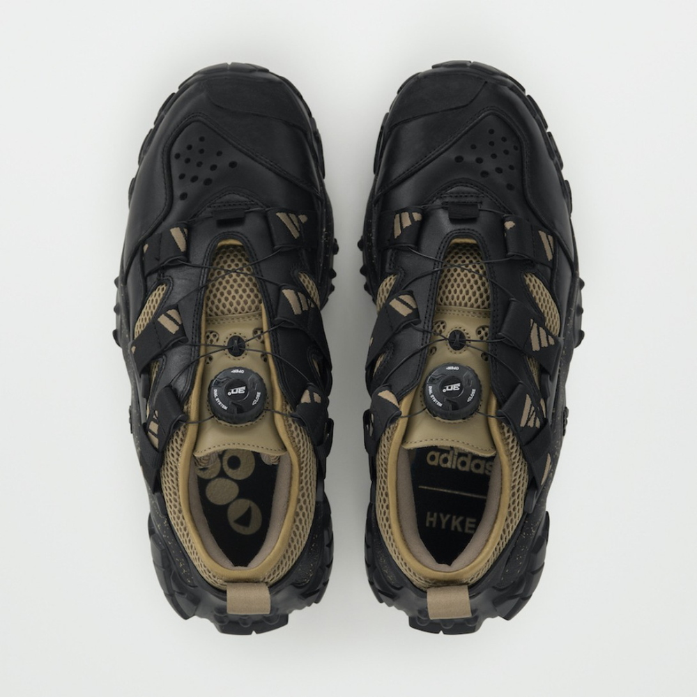 Hyke Revamps Hiking Heritage In Fw20 Adidas Originals Collaboration In 2021 Adventure Shoes Shoe Inspiration Trail Shoes