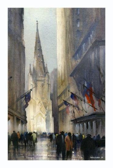 Thomas W Schaller - Work Zoom: trinity church - nyc