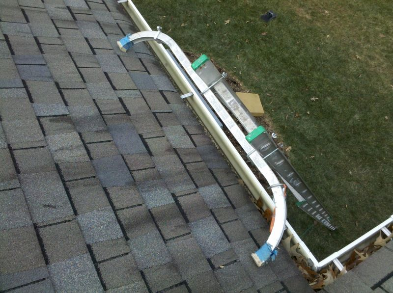 Ladder Stabilizer Cleaning Gutters Next At Home Ladder Stabilizer