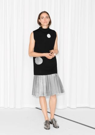 & Other Stories   Pleated Skirt