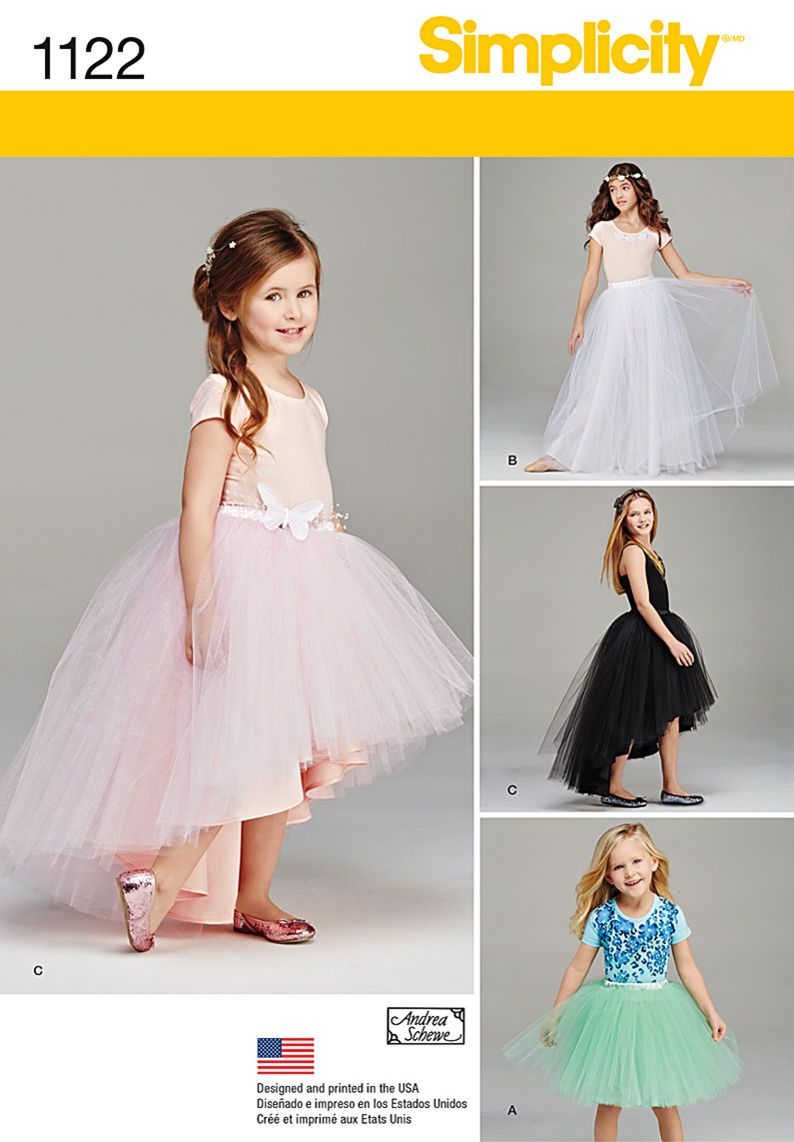 These Beautiful Tulle Skirts For Children And Girls Add A