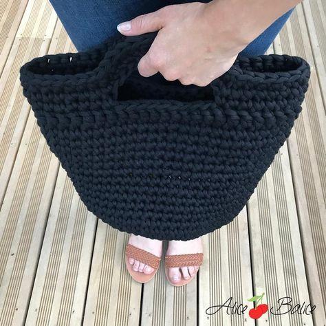 Tuto crochet : ma corbeille à ouvrages - Alice Balice - couture et DIY loisirs créatifs #loisirscréatifs