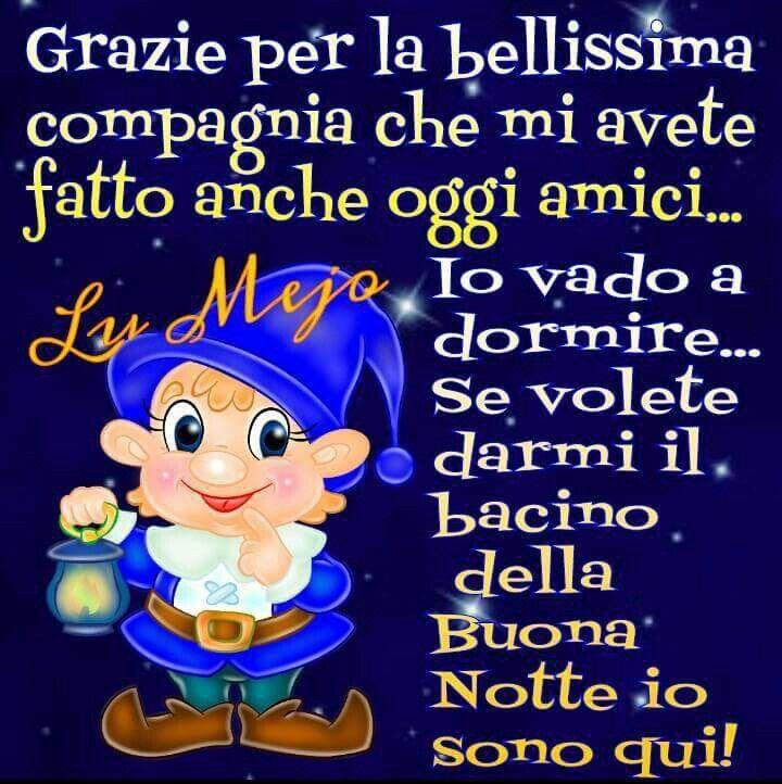 Eccezionale Buonanotte   Itália parole   Pinterest   Advice KB25
