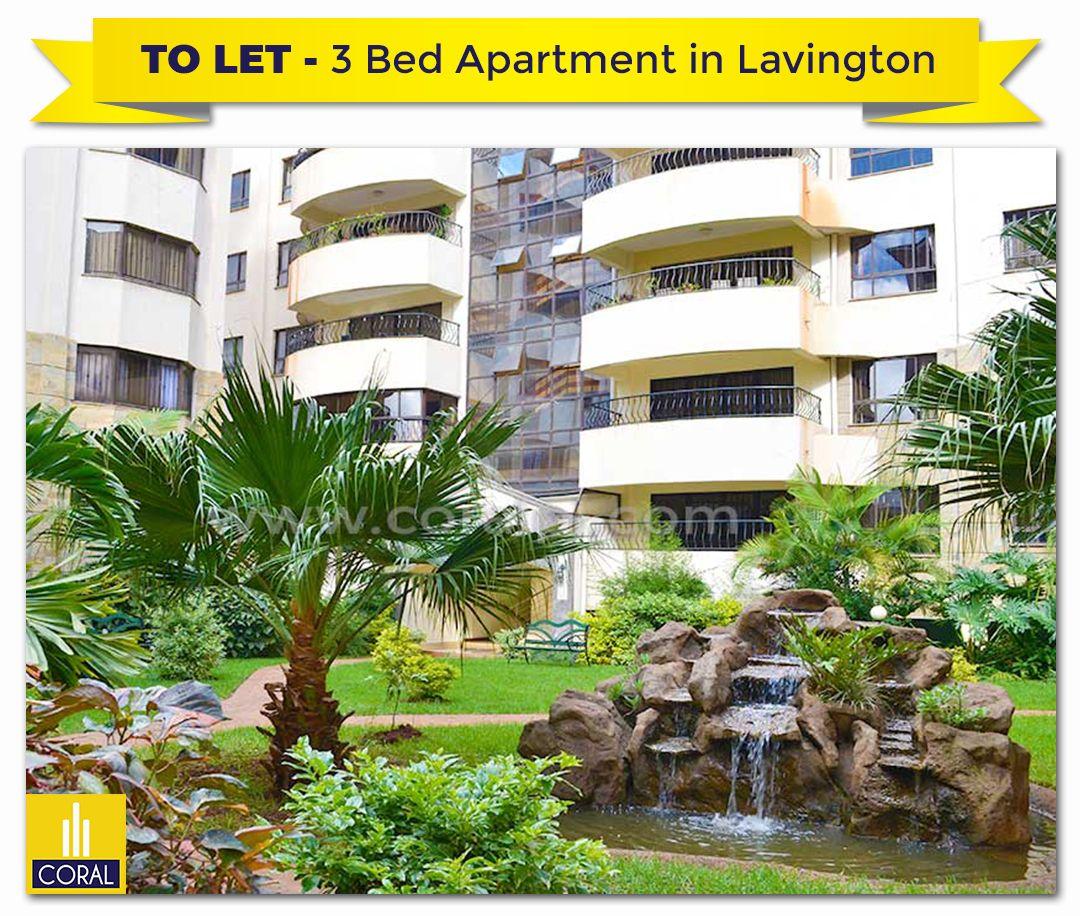 3 Bedroom Apartment For Rent In Lavington Green Gardens