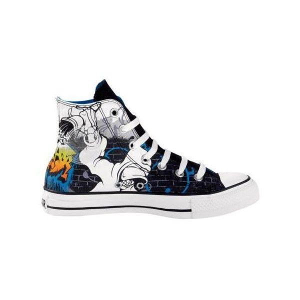 Converse All Star Hi DJ Skull, Black, at Journeys Shoes #inspiration