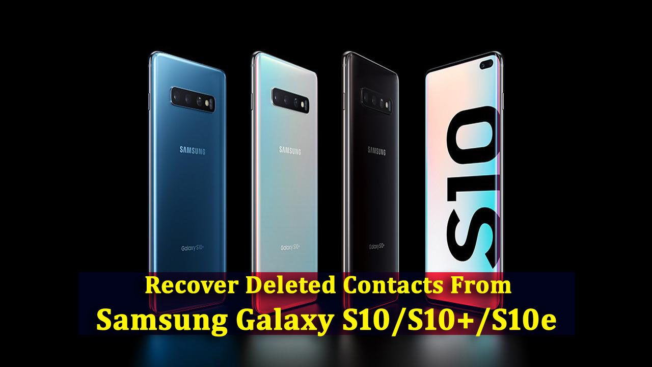 5 Methods To Recover Deleted Contacts From Samsung Galaxy