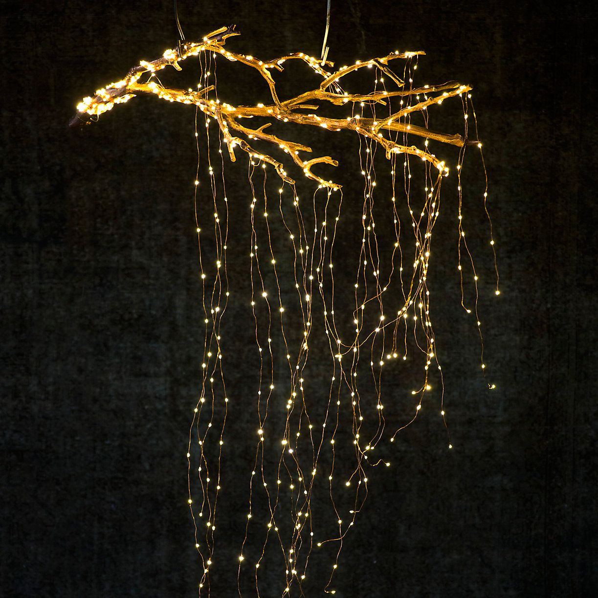 Stargazer Cascade Falls Gardening And Gardens Pinterest Wire Christmas Tree Lights In Addition Led Wiring Holiday Curbside Dcor At Terrain Twig Branches With