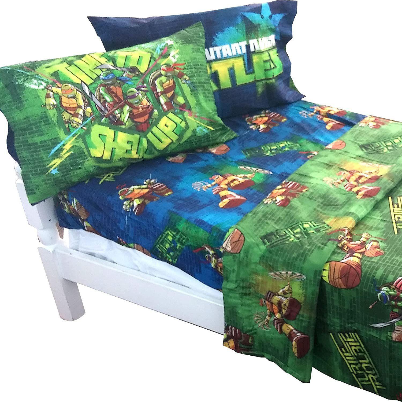 Teenage Mutant Ninja Turtles Bedroom Set Teenage Mutant Ninja Turtles Shell Up 4pc Full Bed Sheet Set Full Bed Sheets Ninja Turtle Bedroom Bed Sheet Sets