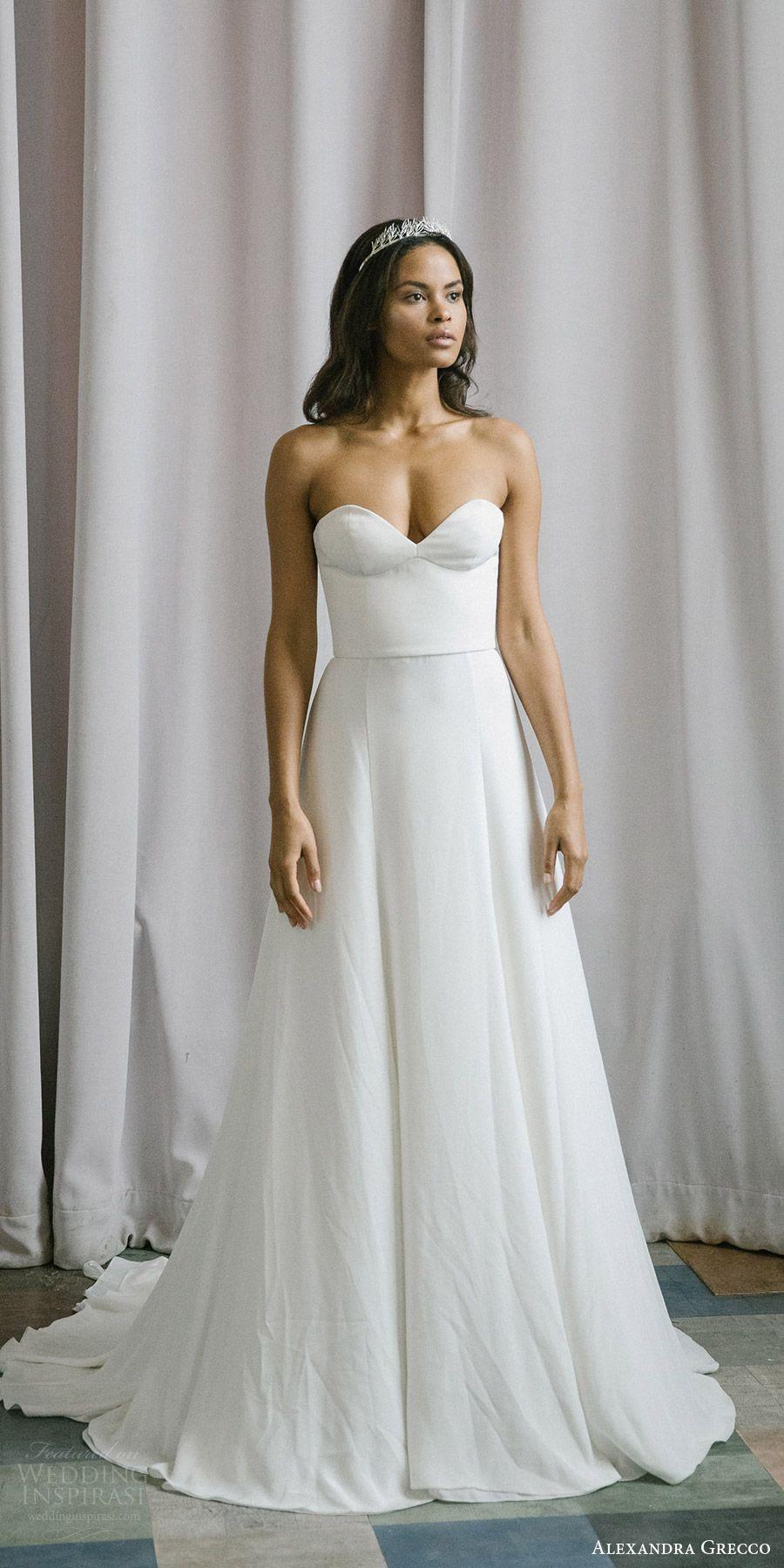 Alexandra Grecco Fall 2017 Wedding Dresses | Hochzeitskleider