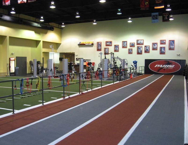 Desoto Athletic Club Gym design, Sports training