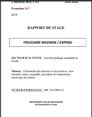 Les Taches Effectuees Dans Un Stage Fiduciaire Pdf Fiduciaire Rapport De Stage Comptabilite Apprendre L Italien