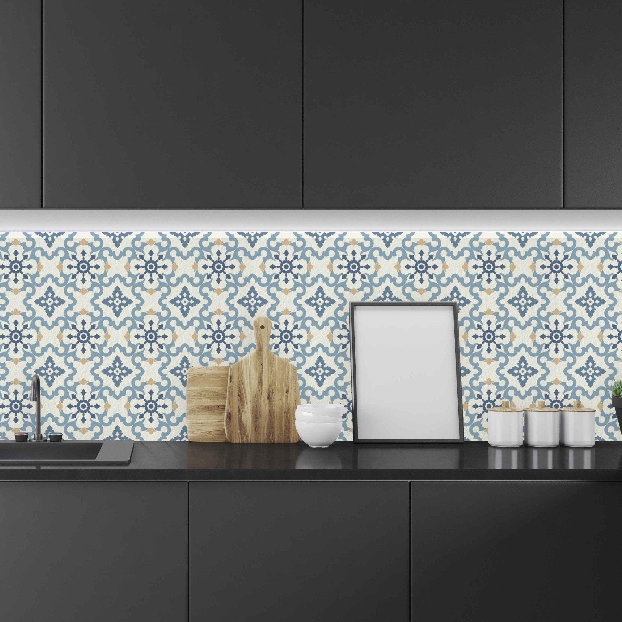 Teal tile backsplash home kitchen pinterest subway tile teal tile backsplash dailygadgetfo Gallery