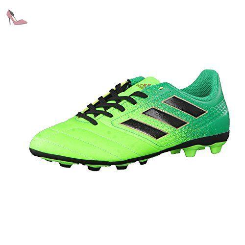 Adidas aCE 17.4 FXG J – Chaussures montantes de fútbolpara enfants, vert – ( Versol