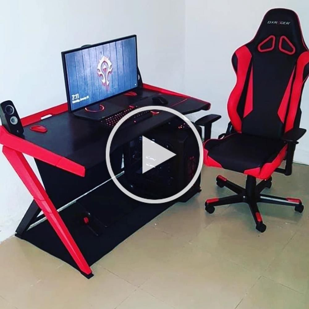 Red Pc Gaming Setup of Gaming Setup, Ultimate by Ella Saunders also more Ideas l... - Pc gaming setup - #Ella #gaming #ideas #Pcgamingsetup #Red #Saunders #setup #Ultimate