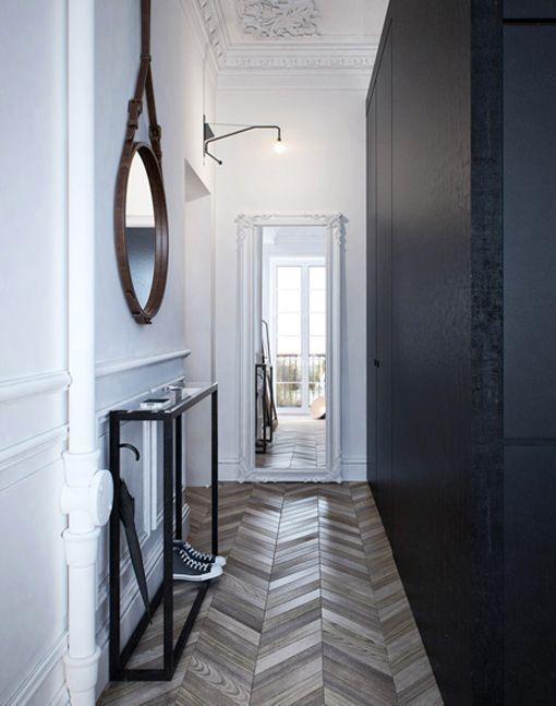 C mo decorar habitaciones estrechas y alargadas pasillo - Como decorar pasillos estrechos ...