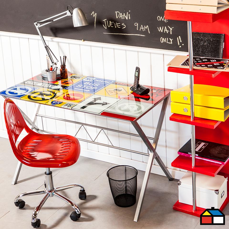 Homeoffice muebles escritorio sillas sodimac for Sillas de escritorio sodimac