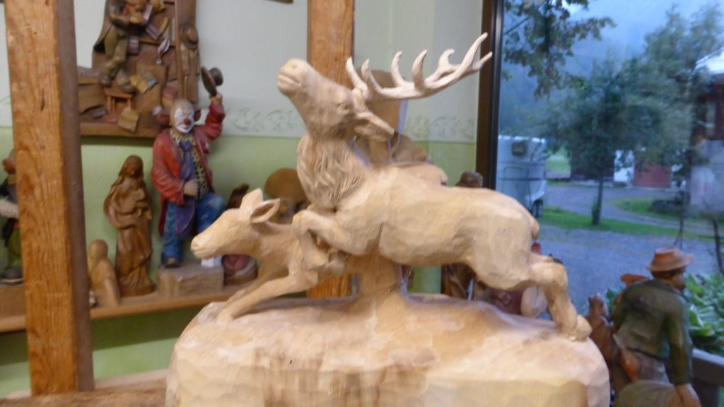 Hinde en hert voor Ann