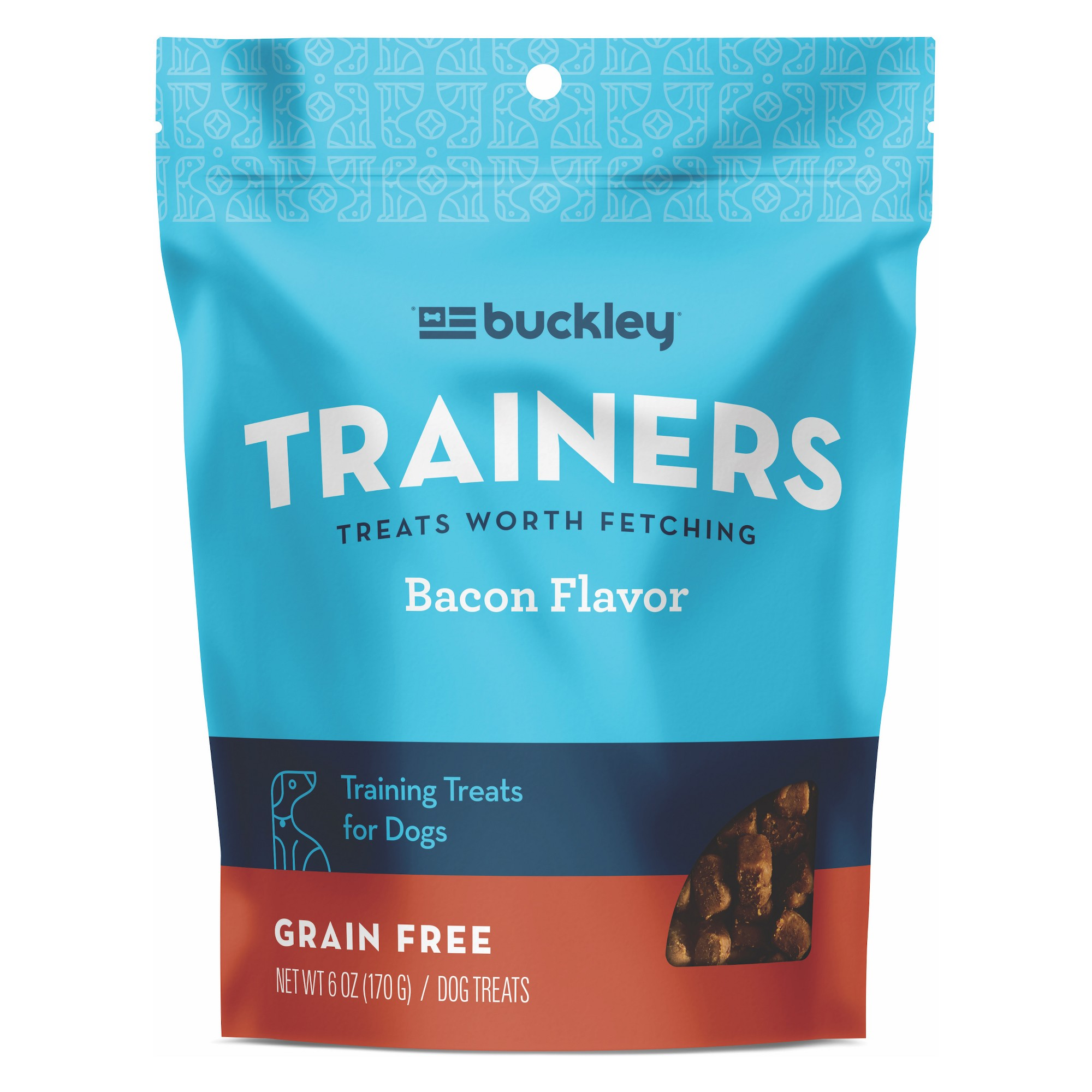Buckley Trainers Bacon Dog Treats 6oz Dog Training Treats