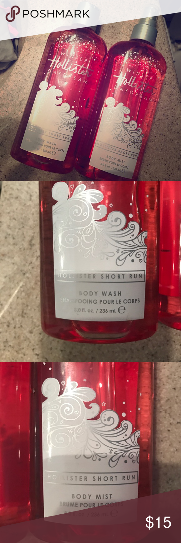 Never used before body wash and body mist! Brand new ! Without tags Hollister Other