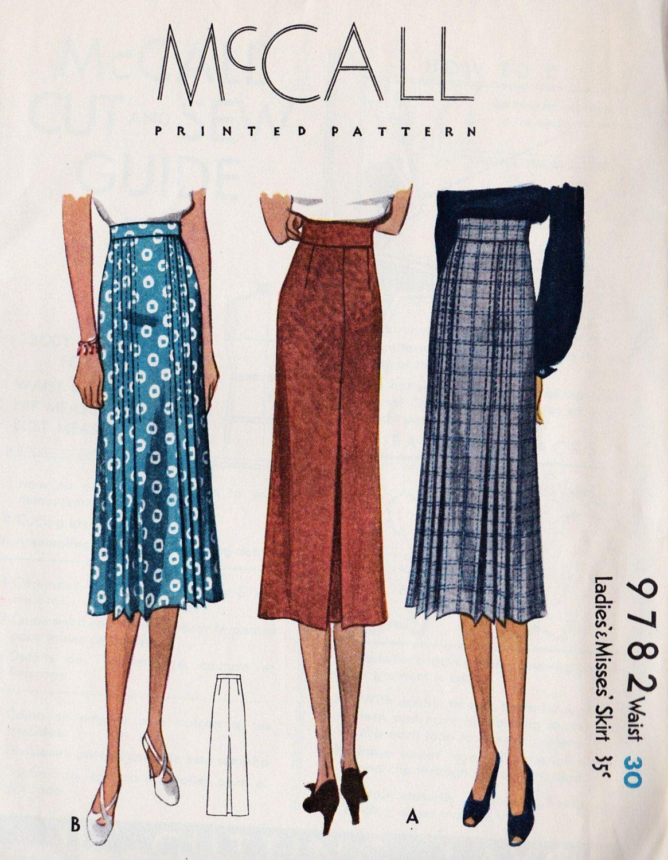1930\'s skirts | 1930 fashions | Pinterest