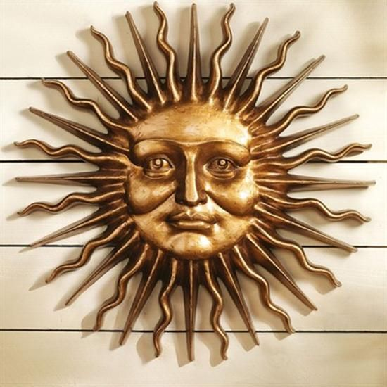 Various expression of sun wall art | sun theme | Pinterest | Art ...