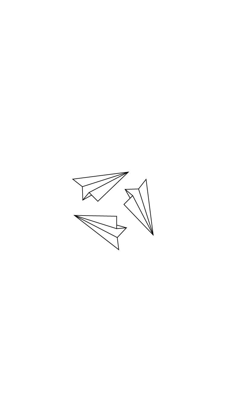 Arvowear Arvo Phonebackground Wallpaper Background Paperplanes Fold Origami Min Pastel Background Wallpapers Minimal Wallpaper Simple Iphone Wallpaper