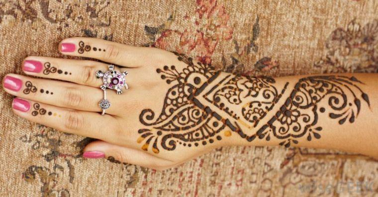 Mehndi Party Things To Do : Tatuajes de henna significado diseños y mucho más