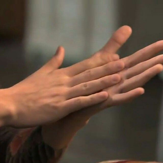 Mãos lindas.