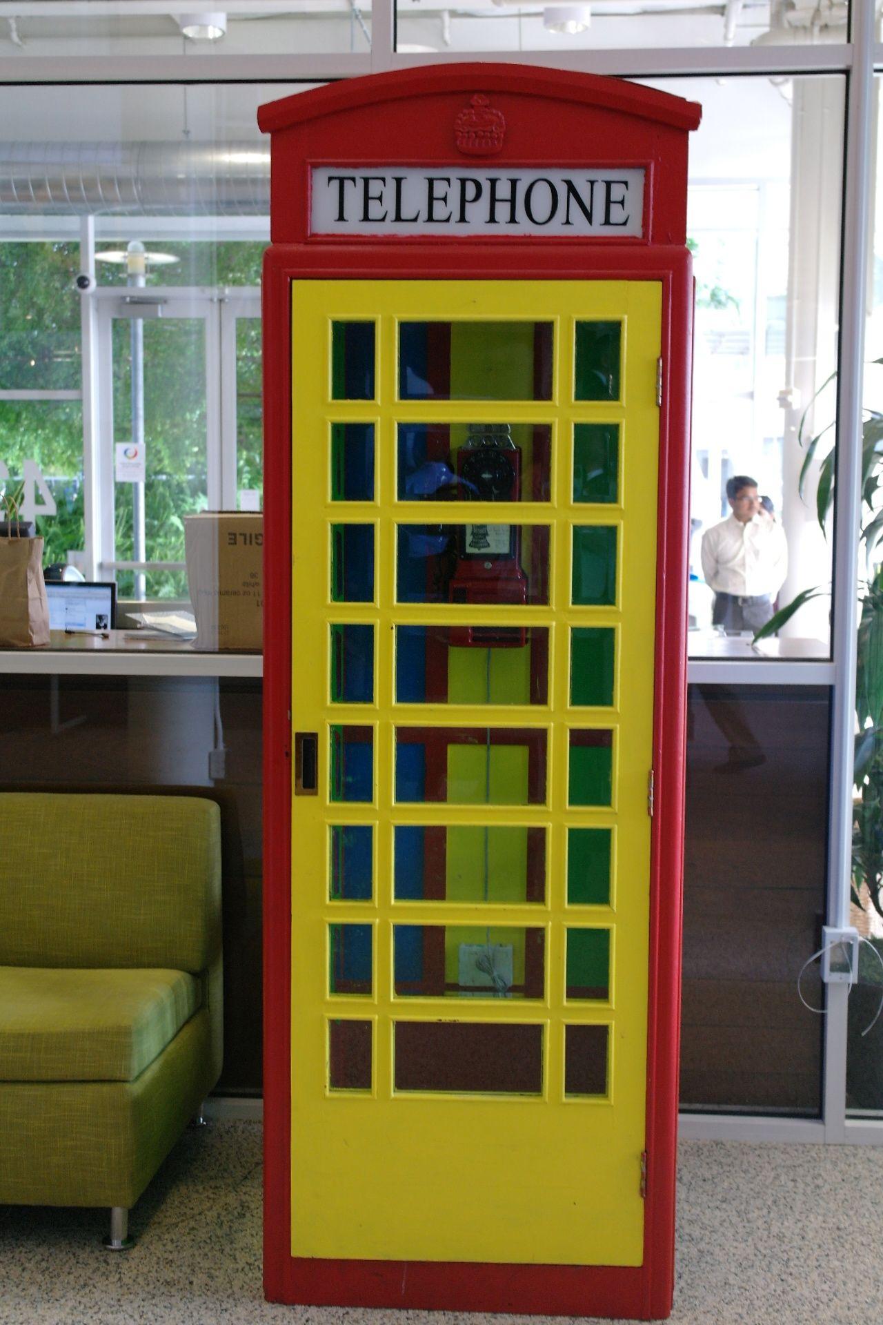 Google Telephone Booth