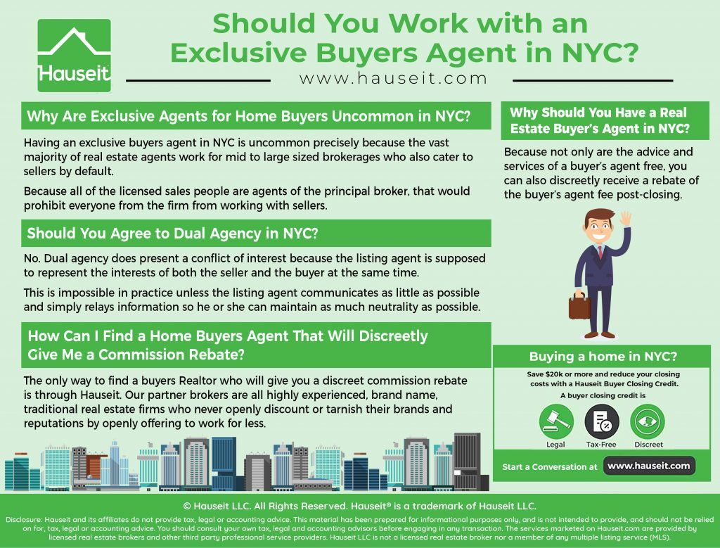 Should You Work With An Exclusive Buyers Agent Nyc Buyers Agent
