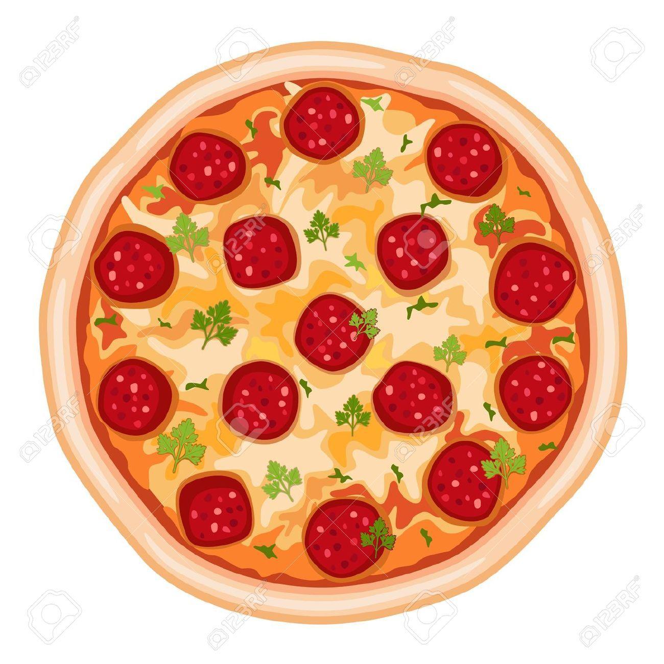 Df85742ec5b665f5a66c5ca637bcec6a Jpg 1300 1300 Alimentos Dibujos Pizza De Peperoni Fondo De Pizza