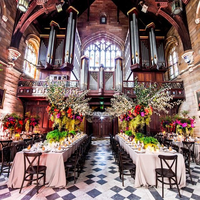 EVENT Reminiscing About Our Recent Wedding Design At The Great Hall Sydney University
