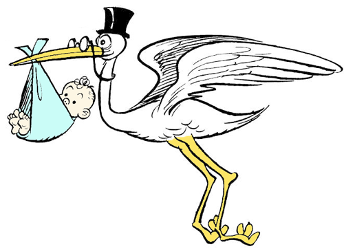 How To Draw Cartoon Stork Holding Newborn Baby Drawing Tutorial How To Draw Step By Step Drawing Tutorials Cartoon Drawings Baby Drawing Drawings
