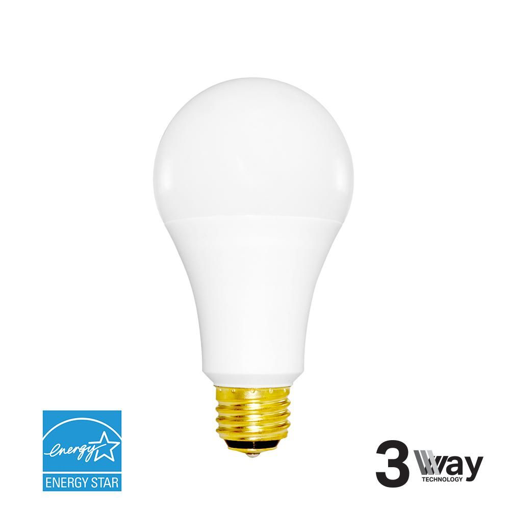 Irtronix 40w 60w 100w Equivalent Cool White A21 3 Way Dimmable Led