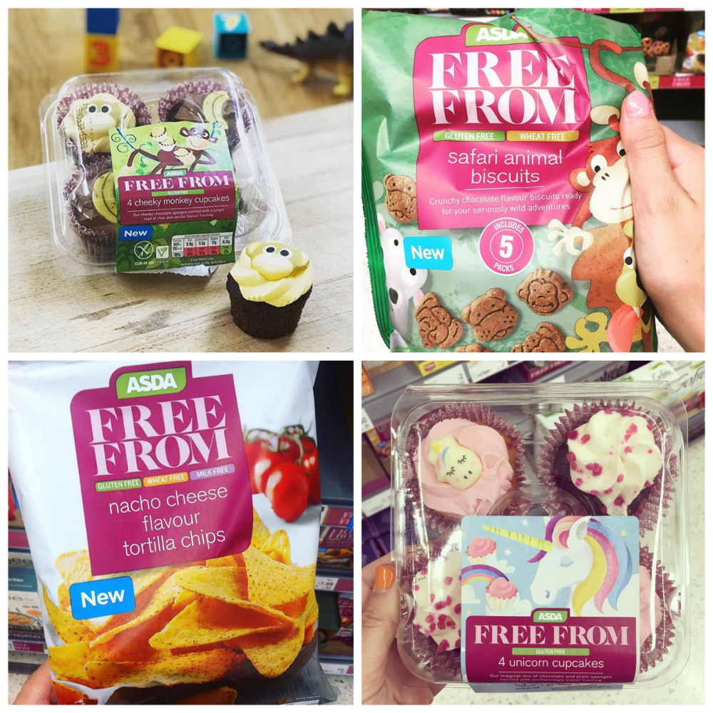 check out some of the great new products in our free from range at asda accrington unicorn cupcakes asda monkey cupcakes pinterest