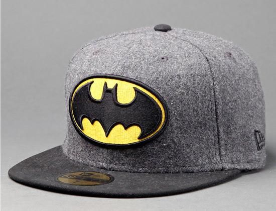 62e634af044 Batman Hero Melton 59Fifty Fitted Cap By DC COMICS x NEW ERA ...