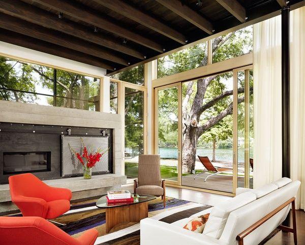 Austin City Limits Lake Flato And Abode Transform Texas House LimitsInterior Design MagazineLake