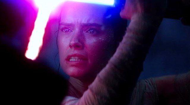... The Force ... #starwars #theforceawakens #rey #daisyridley #kyloren #starwarskyloren