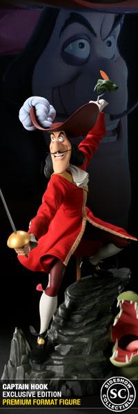 Captain Hook Premium Format Figure - Sideshow Exclusive Edition