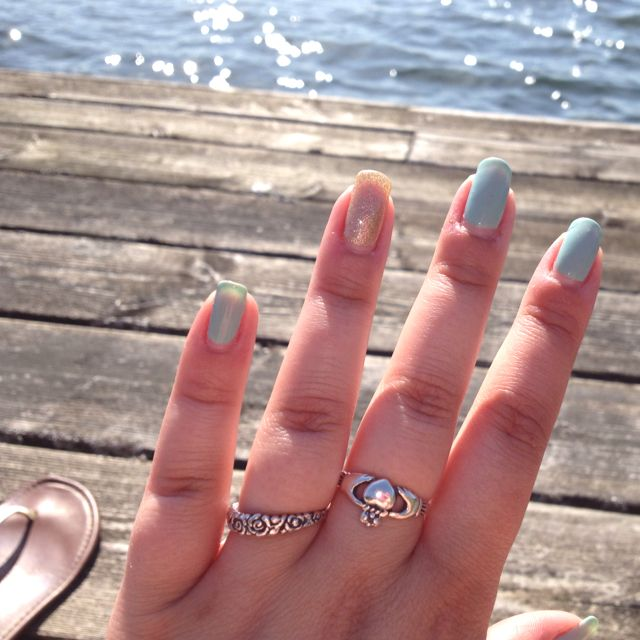Shellac nails by Tracey :)