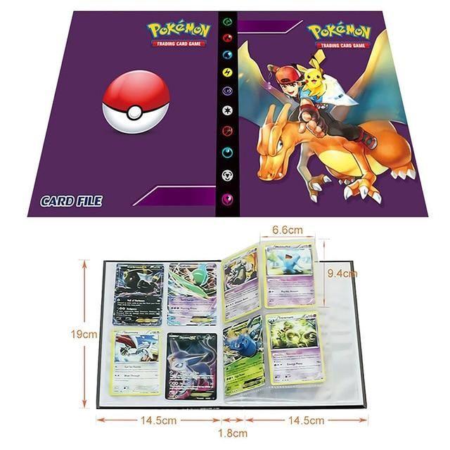 Photo of Pokemon Cards Album Book Cartoon – Anime 80/240PCS Game Cards – 11