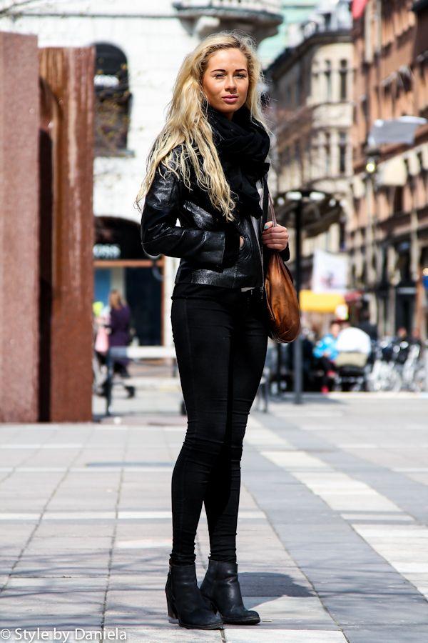 Street Fashion Street Style Black Style Pinterest Fashion Street Styles Street Styles