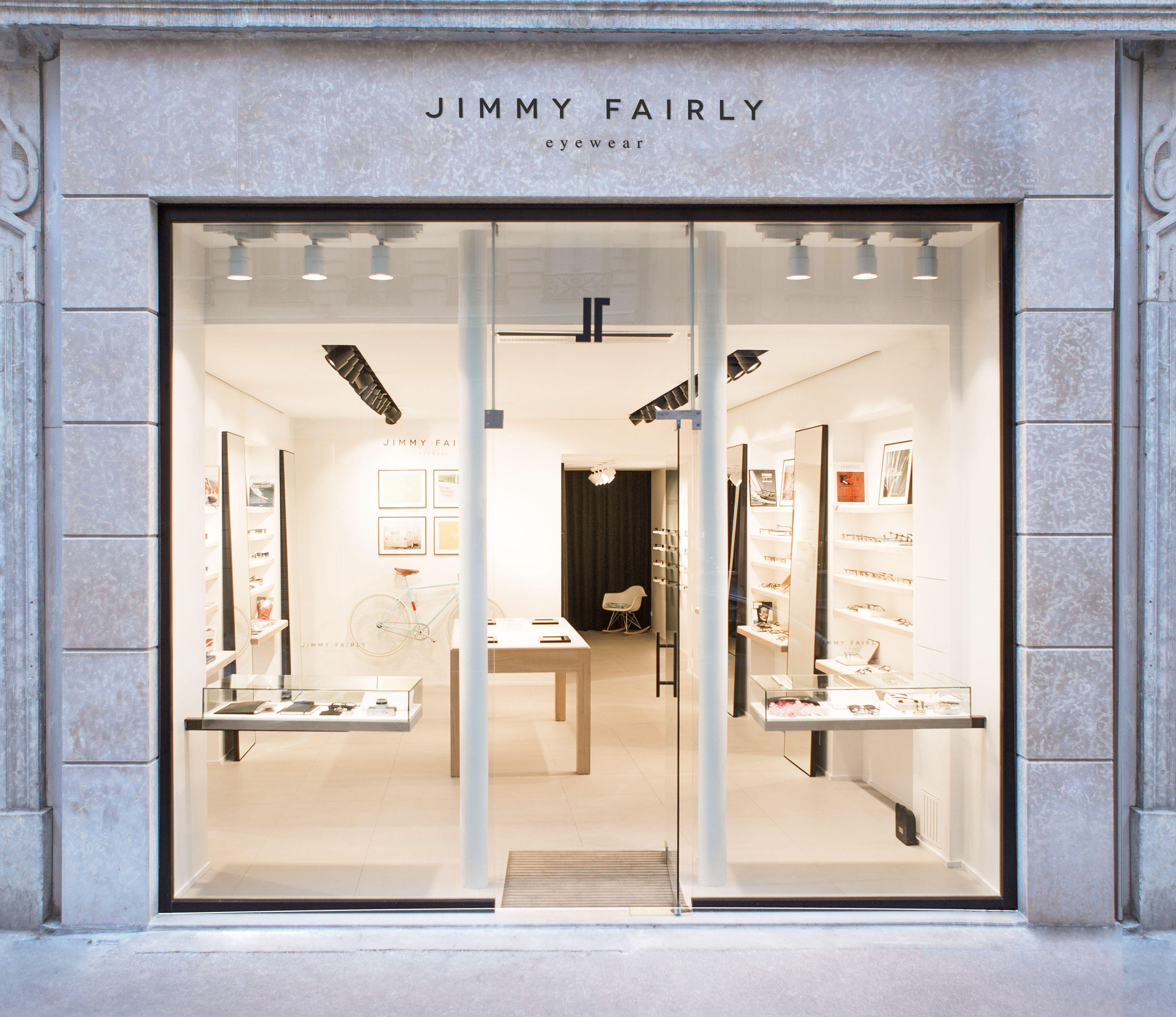 Jimmy Fairly Lyon Diseno Interior De Tienda Diseno De Mostrador Diseno De Fachada De Tienda